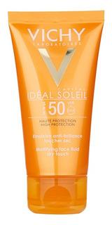 Vichy Idéal Soleil Spf50+ Crema Toque Seco Rostro X 50 Ml