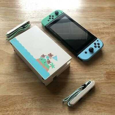 Imagen 1 de 4 de Animal Crossing Nintendo Switch 32gb Console Bundle