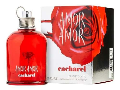Amor Amor 100ml Edt     Silk Perfumes Original