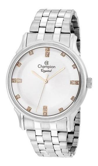Relógio Feminino Champion Prata Cn25510y