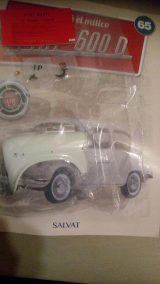 Fasciculo Fiat 600 1/8 Salvat