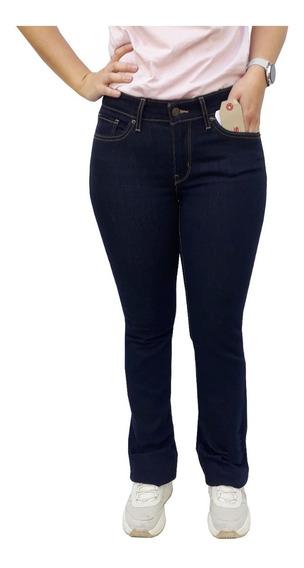 Pantalón Jean Levis 715 Bootcut Dama Mujer