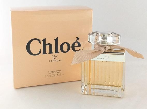 Perfume Chloé 75ml Eau De Parfum Feminino + Brinde Amostra