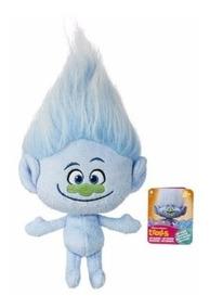 Trolls Pelúcia Diamantino Guy Original Hasbro