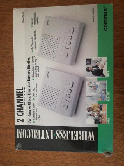 Intercomunicador Inalambrico Commax Modelo Wi 2c