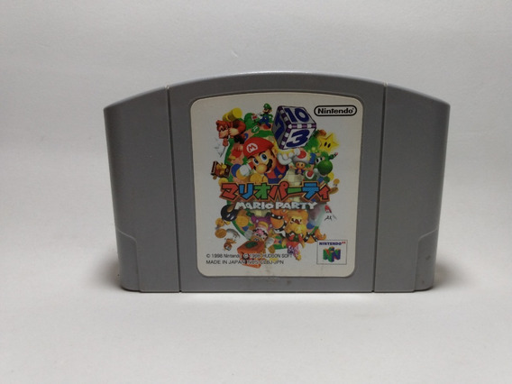 Mario Party 1 - Nintendo 64 - N64 - Original Japonês