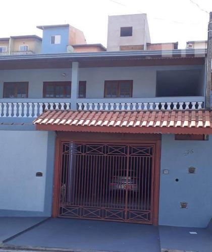 Casa Com 3 Dormitórios À Venda Ou Permuta , 238 M² - Vila Nova Jundiainópolis - Jundiaí/sp - Ca1235