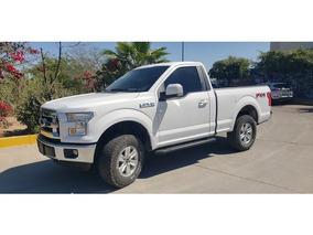 Ford Lobo 2 Pts. Cabina Regular Xlt, Ta 2016 Seminuevos
