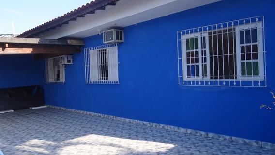 Casa Em Mongaguá Com 4 Dormitórios, Piscina Ref 5705w