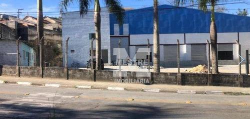 Imagem 1 de 9 de Galpão Para Alugar, 740 M² Por R$ 25.000,02/mês - Jardim Brasil - Guarulhos/sp - Ga0102