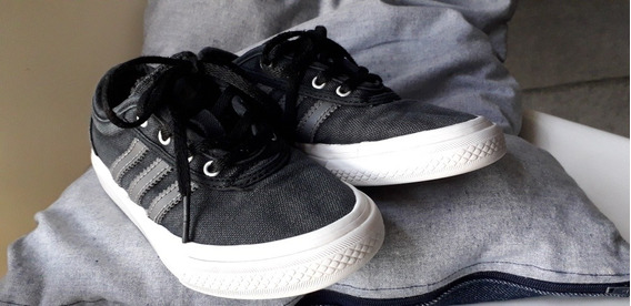 Zapatillas adidas Skateboard N°31 Negro Y Gris.
