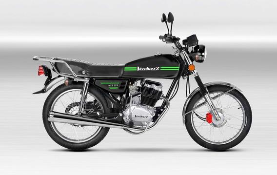 Moto Cg Lx S125cg Financiada Tarjetas Velosolex Freno Disco