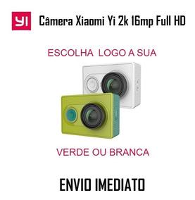 Câmera Xiaomi Verde Yi 2k Full Hd + Cartão Memoria 64gb