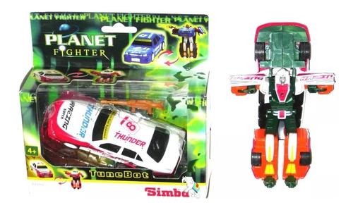 Impresionante Transformers X 2 Autos De  Rally 14 Cm Metal!