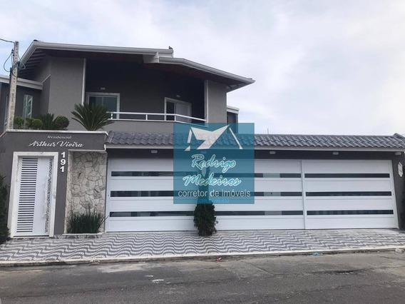 Sobrado Com 2 Dormitórios À Venda, 59 M² Por R$ 215.000 - Vila Assunção - Praia Grande/sp - So0030