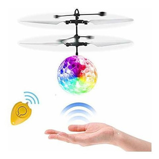 Wekity Rc Flying Ball Toys, Hand Spinner Drone Helicopter Ba