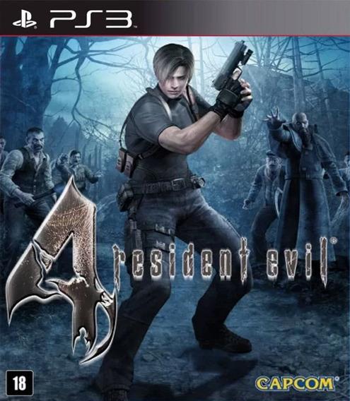 Resident Evil 4 Hd Ps3 Psn Digital - Envio Imediato!