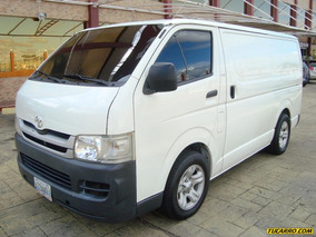 Toyota Hiace - Sincrónica