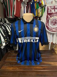 Inter De Milão Primeira Camisa 2011 Número 55 Tamanho G