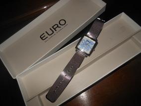 Relógio Euro Modelo 3712 Aço Inox