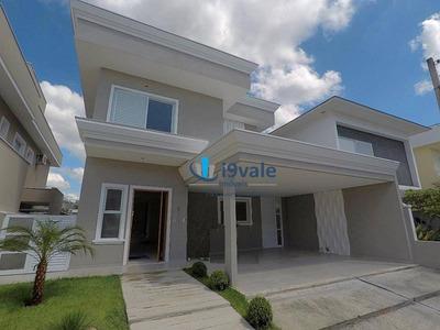 Casa Com Piscina, 4 Dormitórios À Venda, 250 M² Por R$ 1.020.000 - Urbanova - São José Dos Campos/sp - Ca1182