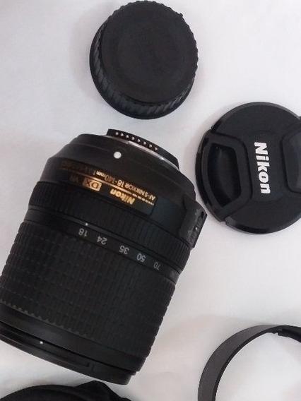 Lente Nikon Dx Vr Af-s Nikkor 18-140mm F1:3.5-5.6g Ed