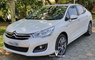 Citroën C4 Lounge Exclusive 1.6 Tb Flex Aut. 2017 Branco