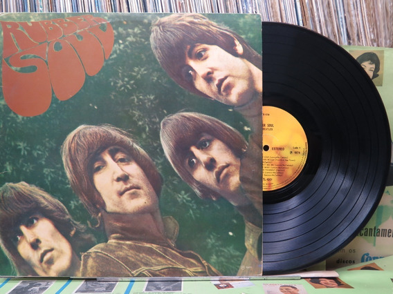The Beatles Rubber Soul Lp Emi Odeon 1974 Stereo