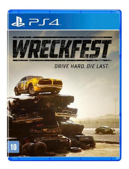 Wreckfest - Mídia Física - Ps4 - Novo