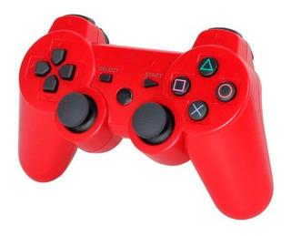 Joystick Bluetooth Para Ps3 Con Cable Usb Red - Revogames®