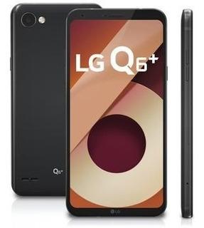 Lg Q6 Plus M700tv 64gb Dual Tela 5.5 Original Preto Vitrine