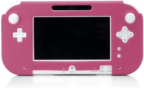 Wii U Gamepad Silicona Chaqueta - Rosa
