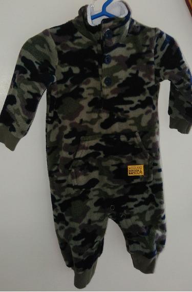 Macacão Militar Para Bebês.