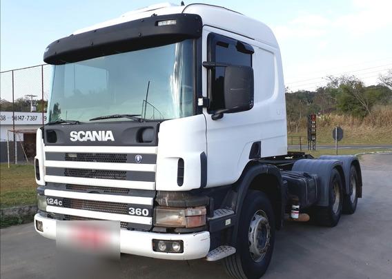 Scania P124 360 6x4 Cavalo Traçado Bug Pesado