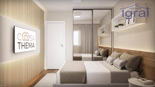 Apartamento À Venda, 35 M² Por R$ 240.000,00 - Jardim Oriental - São Paulo/sp - Ap1299