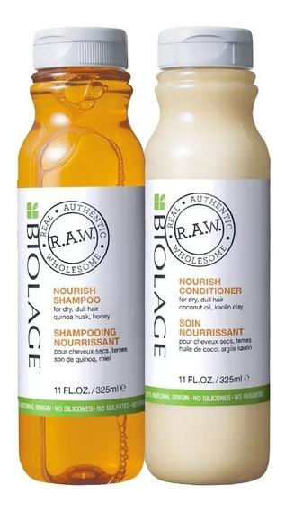 Kit Biolage Raw Nourish: Shampoo Y Acondicionador