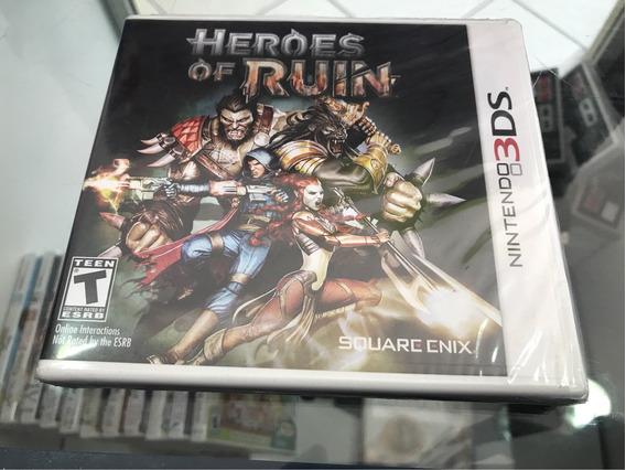 Heroes Of Ruin Lacrado. Nintendo 3ds, 2ds