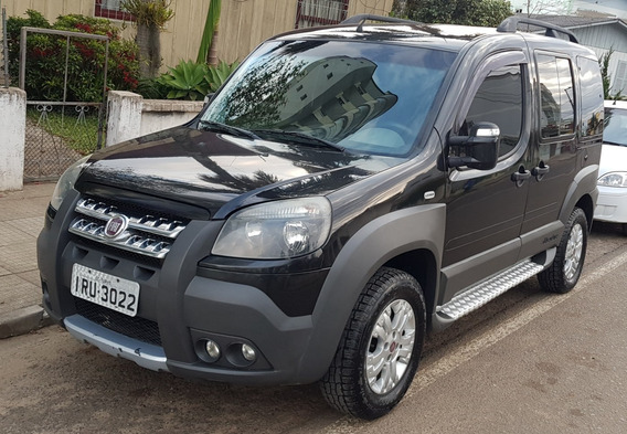 Fiat Doblo Adventure Locker 1.8 6 Lugares 2012 Gnv