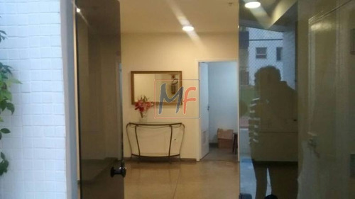 Imagem 1 de 13 de Ref 9011 - Excelente Apartamento  Para Venda No Bairro Vila Regente Feijó, 3 Dorms( 1 Suíte), 2 Vagas, 118 M. Estuda Propostas E Permutas! - 9011