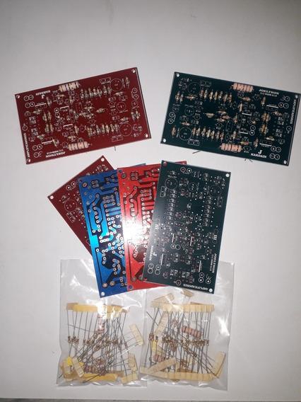 Placa Exitadora Studio R Bx Lisa Ampl Áudio + Tds Resistores