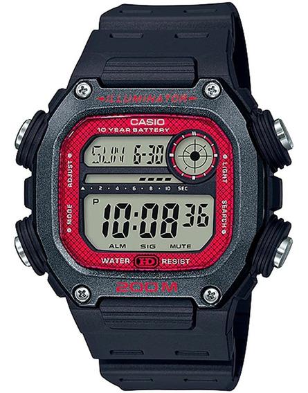 Relógio Casio Masculino Standard Dw-291h-1bvdf