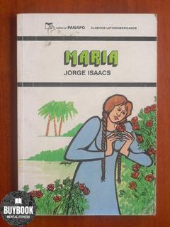 María Libro Novela De Jorge Isaacs Editorial Panapo