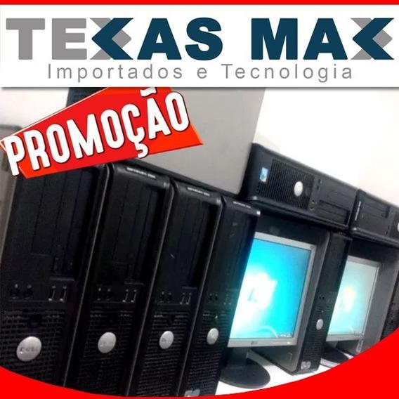Lote 02 Computador Dell + Monitor 15+ Mouse E Teclado