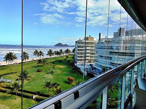 Apartamento Com 4 Dormitórios À Venda, 197 M² Por R$ 5.800.000,00 - Módulo 07 - Jequitibás - Bertioga/sp - Ap8567