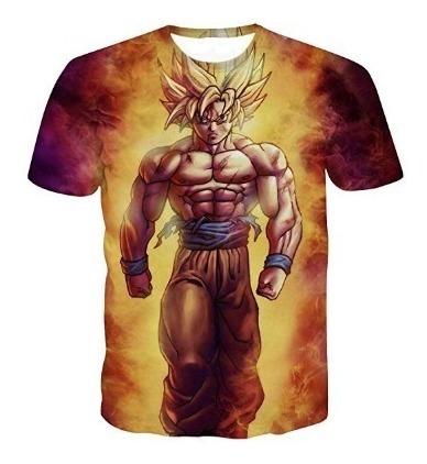 Camiseta Dragon Ball Goku Anaranjada
