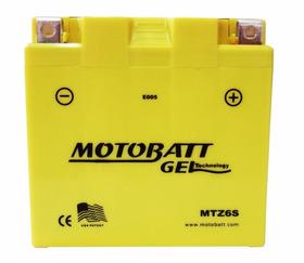 Bateria Cb 300 Motobatt Gel Mtz6s Honda Pcx Cb600f Cbr1000rr