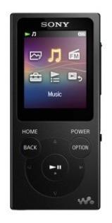 Mp3 Player Sony 4gb Nw-e393 E393 Series Walkman Player Preto