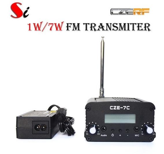 Transmissor Fm Cze 7 W