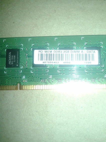 Pci Memória Desktop 2gb Ddr3 Dimm A - Data