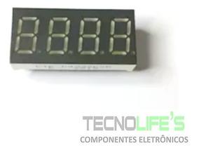 Display De 7 Segmentos 4 Dígitos 0,36